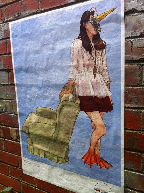 Benk - Illustration - 'Desired Departure' at The End of the Line Festival